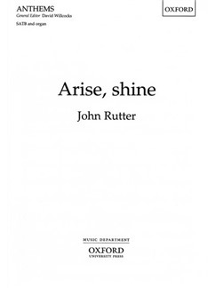 John Rutter: Arise, Shine Books | SATB, Organ Accompaniment