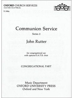 Communion Service (ASB Rite A/RC ICEL text) Books | SATB with Organ Accompaniment