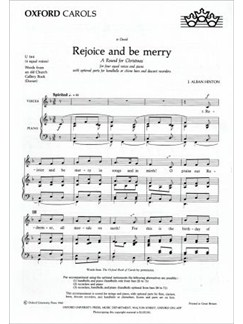 James E. Alban Hinton: Rejoice And Be Merry Unison (Divisi) Books | Handbells, Piano Accompaniment, Unison Voice (Divisi)