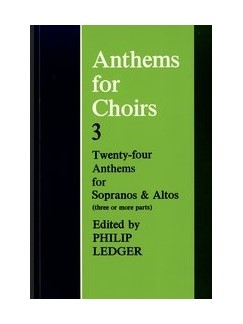 Anthems For Choirs 3 Books | SA