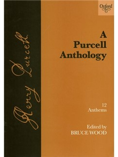 Henry Purcell: A Purcell Anthology Books | Voice, String Orchestra, Organ Accompaniment