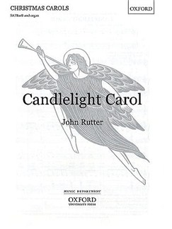 John Rutter: Candlelight Carol (SATBB) Books | SATBARB, Organ Accompaniment