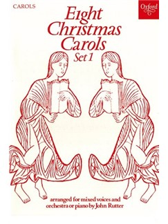 Eight Christmas Carols: Set 1 Books | SATB, Piano Accompaniment