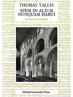 Thomas Tallis: Spem In Alium Books | SATBB (x8)