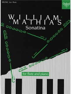 William Mathias: Sonatina For Flute And Piano Books | Flute, Piano Accompaniment