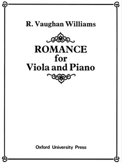 Ralph Vaughan Williams: Romance (Viola/Piano) Books | Viola, Piano Accompaniment