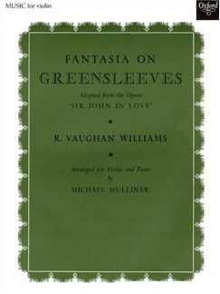Ralph Vaughan Williams: Fantasia On Greensleeves (Violin And Piano) Books | Violin, Piano Accompaniment