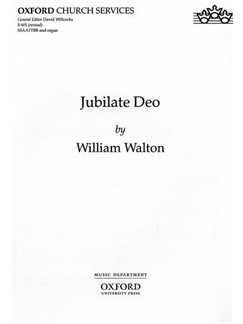 William Walton: Jubilate Deo Books | Organ