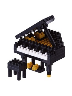 Nanoblock: Grand Piano - Black  |