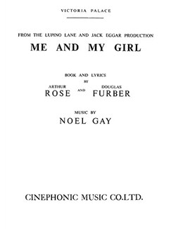 Me And My Girl (Vocal Score) Books | Voice