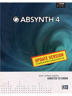 Native Instruments: Absynth 4 (Update Version) CD-Roms / DVD-Roms | Keyboard