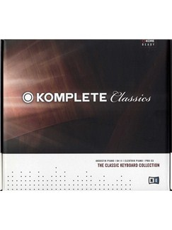 Komplete Classics - The Classic Keyboard Collection CD-Roms / DVD-Roms |