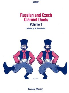 Russian and Czech Duets - Volume 1 Books | Clarinet (Duet)