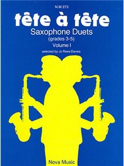 Tete-a-Tete - Saxophone Duets Volume 1 Books | Saxophone (Duet)