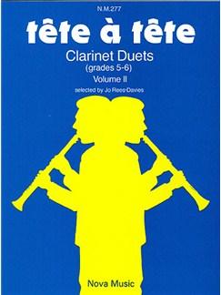 Tete A Tete Volume 2 Books | Clarinet (Duet)