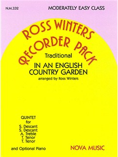 English Country Garden Books | Recorder (Quintet)