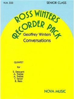 Geoffrey Winters: Conversations Books | Recorder (Quintet)