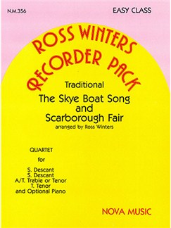 Skye Boat Song and Scarborough Fair Books | Recorder (Quartet)