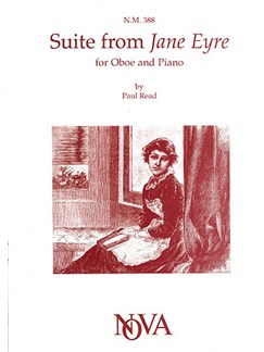 Paul Reade: Suite from Jane Eyre Books | Oboe, Piano Accompaniment