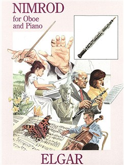 Edward Elgar: Nimrod For Oboe And Piano Books   Oboe, Piano Accompaniment