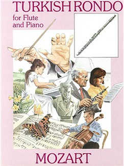 W.A. Mozart: Turkish Rondo (Flute) Books | Flute, Piano Accompaniment