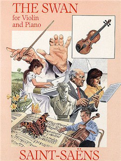 Camille Saint-Saëns: The Swan Books | Violin, Piano Accompaniment
