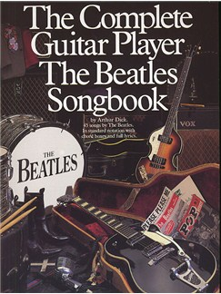 The Complete Guitar Player: The Beatles Songbook Books | Melody line, Lyrics & Chord, with guitar chord boxes