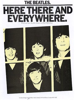 The Beatles: Here There And Everywhere Books | Piano and voice, with guitar chord boxes