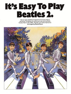 It's Easy To Play: Beatles Volume 2 Books | Piano and Voice, with Guitar chord symbols
