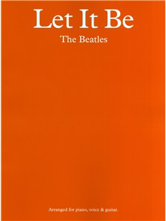 The Beatles: Let It Be - PVG Books | Piano, Vocal & Guitar
