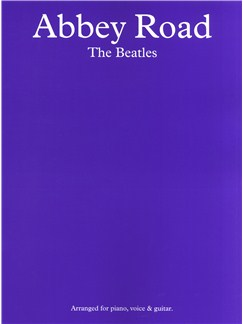 The Beatles: Abbey Road Books | Piano and Voice, with Guitar chord boxes