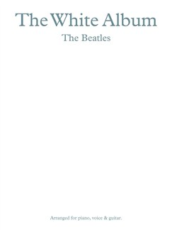 The Beatles: The White Album Books | Piano, Vocal & Guitar (with Chord Boxes)