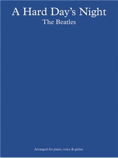 The Beatles: A Hard Day's Night Books | Piano and Voice, with Guitar chord boxes