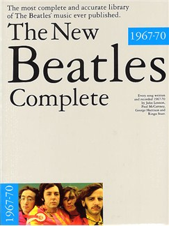 The New Beatles Complete Volume 2 1967-70 Books | Piano and Voice, with Guitar chord boxes