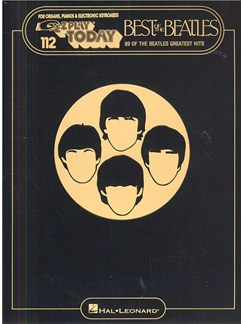 E-Z Play Today 112: The Best Of The Beatles Books | Melody line & lyrics, with chord symbols