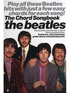 The Beatles: Chord Songbook Books | Lyrics & Chords (with Chord Boxes)