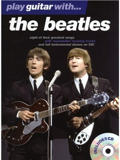 Play Guitar With... The Beatles Books and CDs | Guitar Tab, with chord symbols