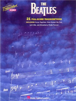 The Beatles: 21 Full Score Transcriptions Books | Bass Guitar, Drums, Guitar, Keyboard