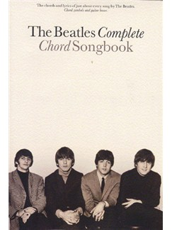 The Beatles Complete Chord Songbook Books | Lyrics & Chords, with chord symbols