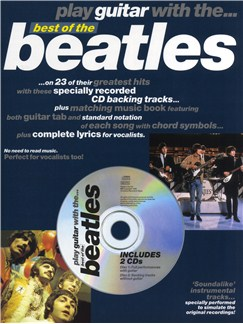 Play Guitar With... Best Of The Beatles Books and CDs | Guitar Tab (with Chord Symbols)