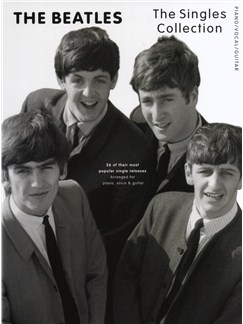 The Beatles: The Singles Collection Books | Piano, Vocal & Guitar