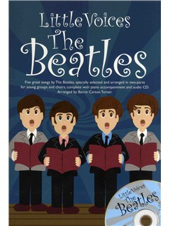Little Voices - The Beatles Books and CDs | 2-Part Choir, Piano Accompaniment