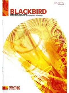 The Beatles: Blackbird - (SSA/Piano) Books | SSA, Piano Accompaniment