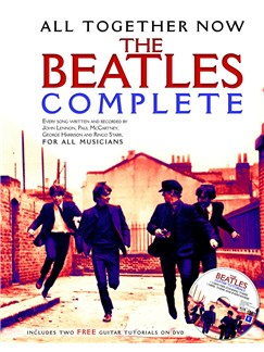 All Together Now: The Beatles Complete (Sheet Music/DVD) DVDs / Videos et Livre | Ligne De Mélodie, Paroles et Accords (Boîtes d'Accord)