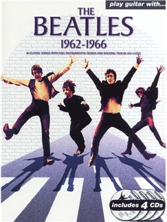 Play Guitar With... The Beatles 1962-1966 Books and CDs | Guitar Tab, Voice