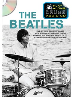Play Along Drums Audio CD: The Beatles Books and CDs | Drums