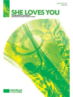 The Beatles: She Loves You (SAB/Piano) Books | SAB, Piano Accompaniment