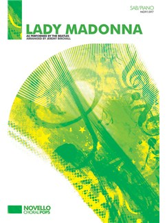 The Beatles: Lady Madonna (SAB/Piano) Livre | SAB, Accompagnement Piano, Chorale