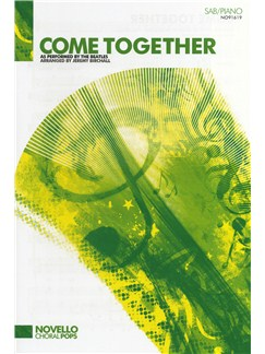 The Beatles: Come Together (SAB/Piano) Books | SAB, Piano Accompaniment