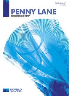 The Beatles: Penny Lane - SATB/Piano Books | SATB, Piano Accompaniment